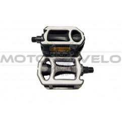 Педали велосипедные пластмассовые, mod:JD-65 (#MD) TAIWAN цвет: черный