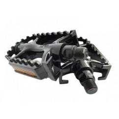 """Педали велосипедные алюминиевые 'NECO"""", mod:WP-895 (MTB 9/16') цвет:черный"""