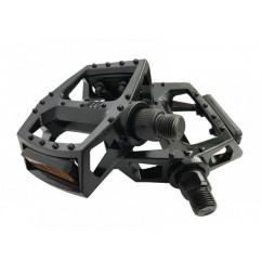 """Педали велосипедные алюминиевые 'NECO"""", mod:WP-313 (MTB 9/16') цвет:черный"""