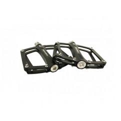 Педали велосипедные алюминиевые 'Mpeda' (mod:AINK-652) цвет:черный
