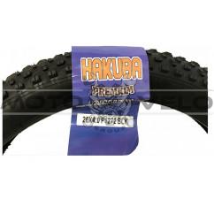 """Покрышка велосипедная без камеры FatBike 20x4.0 """"Hakuba"""" P-1272"""