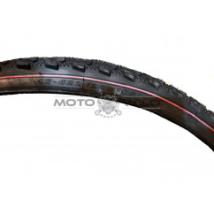 """Покрышка велосипедная без камеры шипованная с красной полоской 28x1.75 (47-622) """"SRC"""" (Вьетнам) SV-211"""