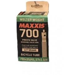 """Камера велосипедная 700x35/45c (27x1 3/8) (F.V) """"Maxxis"""""""
