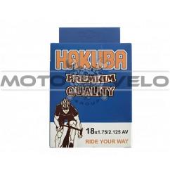 Камера велосипедная 18x1.75/2.125 'Hakuba' (A.V)