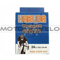 Камера велосипедная 24x1.75/2.125 'Hakuba' (A.V)