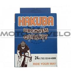 Камера велосипедная 24x1.75/2.125 'Hakuba' (A.V48mm)