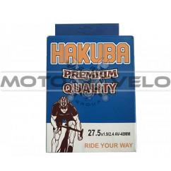 Камера велосипедная 27.5x1.95/2.40 'Hakuba' (A.V48mm)
