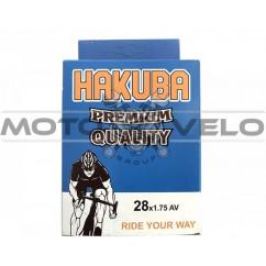 Камера велосипедная 28x1.75 'Hakuba' (A.V)