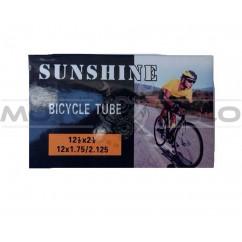 "Камера велосипедная 12х1.75/2.125 ""SUNSHINE"""
