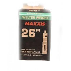 """Камера велосипедная 26 x 1.5/2.5 (F.V 48mm) """"Maxxis"""""""