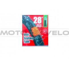 """Камера велосипедная 28х1.75/2.10 (47-622) самоклейка """"Chao Yang"""" (A.V 48mm)"""