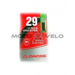 "Камера велосипедная 29х1.75/2.10 (47/52-622/630) ""Chao Yang"" (A.V 48mm)"