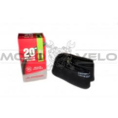 """Камера велосипедная 20x2.30-2.50 (57/62-406) """"Chao Yang"""" (A.V 48mm)"""