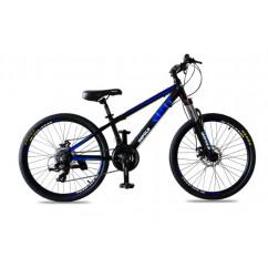 """Велосипед 24"""" RIO 2020 черно-салатовый/черно-синий"""