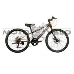 Велосипед COLORADO 24' NEW черно-оранжевый