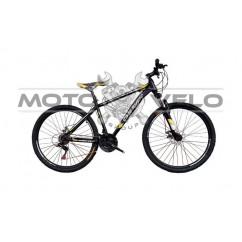 Велосипед Oskar 27,5' 1839 черно-желтый