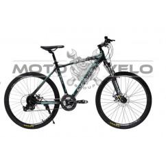 Велосипед Oskar 26' EXPLORER 1.0 черно-голубой