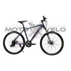 Велосипед Oskar 26' EXPLORER 1.0 темно-зеленый металлик