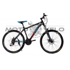 Велосипед Oskar 26' SW-001 черный-красный-синий