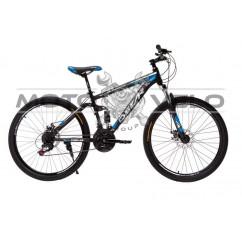 Велосипед Oskar 26' WARSHIP черно-синий
