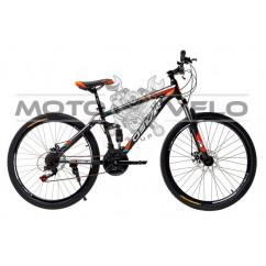 Велосипед Oskar 26' WARSHIP черно-оранжевый