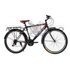 Велосипед Oskar 26' GTX черно-красный