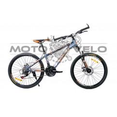 Велосипед Oskar 24' CARTER серый