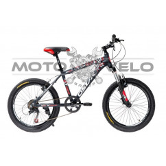 Велосипед Oskar 20'SCARP черно-красный