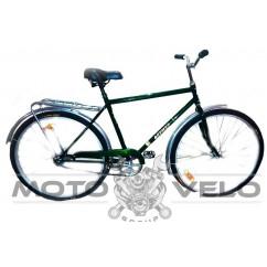 """Велосипед дорожный """"Фермер"""" -28-мужская рама (зеленый/синий)"""