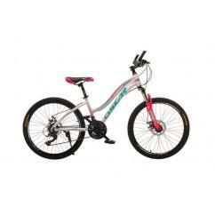 """Велосипед Oskar 24"""" BEAUTY белый"""
