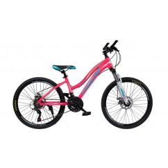 """Велосипед Oskar 24"""" BEAUTY розовый"""