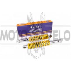 Амортизаторы (пара) GY6, DIO ZX 320mm, регулируемые (желтые) RUIKAI