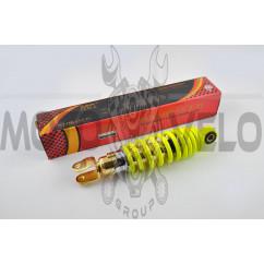 Амортизатор JOG 230mm, регулируемый (лимонный) NDT