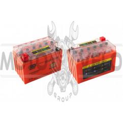 АКБ 12V 9А гелевый (152x88x106, оранжевый, с индикатором заряда) OUTDO