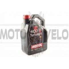 Масло   автомобильное, 4л   (синтетика, 10W-40, 4100 Turbolight)   MOTUL   (#100355), шт