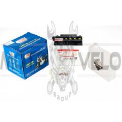 АКБ 12V 9А заливной (135x75x139, белый, mod:12N 9-3B) (+электролит) OUTDO