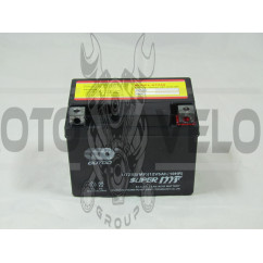 АКБ   12V 5А   гелевый   (черный)   MF (UTZ5S, 115x86x70)   DELTA 110/125   (Japan Tech)   ZV