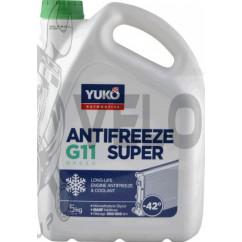 Охлаждающая жидкость   -40C, 5л   (Antifreeze SUPER G11, синий)   YUKO
