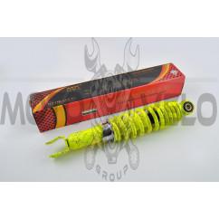 Амортизатор GY6, DIO, LEAD 290mm, регулируемый (лимонный +паутина) NDT