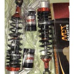 Амортизаторы (пара) Delta 330mm, газомасляные (черные)