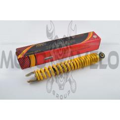 Амортизатор   GY6, DIO, LEAD   290mm, стандартный   (желтый)   NDT
