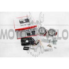 """Аудиосистема 2.0 mod:978 (3"""", с диодами, сигнализация, МР3/FM/USB/SD, ПДУ, ЖК дисплей)"""