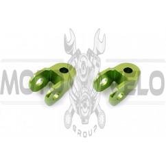 Удлинители амортизатора (пара) 3см, Ø10мм (зеленые) RIDE IT
