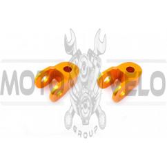 Удлинители амортизатора (пара) 3см, Ø10мм (желтые) RIDE IT