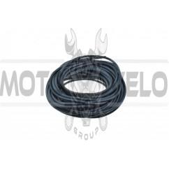Шланг топливный Ø4mm 20м   (черный, силикон)   MZK
