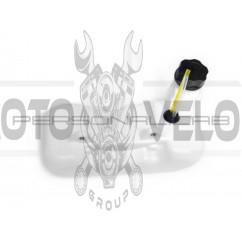 Бак топливный мотокосы   (2 крепления)   (боковой патрубок)   EVO