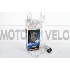Лампа BA20D (2 уса) 12V 35W/35W (белая, со стержнем) BEST