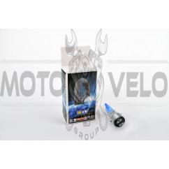 Лампа BA20D (2 уса) 12V 35W/35W (супер белая, со стержнем) BEST