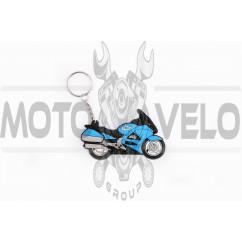 Брелок резиновый круизер (синий) CHEVROLET (#YSK010)