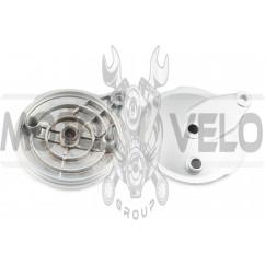 Крышка барабана тормозного (зад) Suzuki MX50V (+колодки) ZZQ
